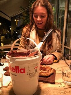 our TUB of Nutella