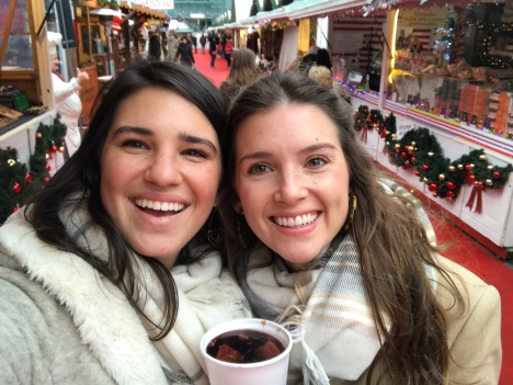 vin chaud at the Christmas market